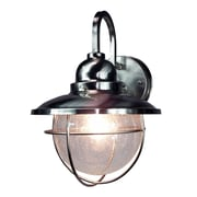 HomeSelects International Coastal 1 Light Outdoor Wall Lantern