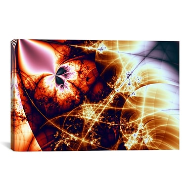 iCanvas Digital Electric Charge Graphic Art on Canvas; 12'' H x 18'' W x 1.5'' D