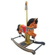 Teamson Kids Carousel Style Rocking Horse