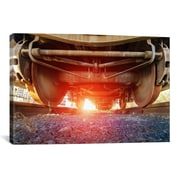 iCanvas 'Atomic Train' by Sebastien Lory Photographic Print on Canvas; 18'' H x 26'' W x 0.75'' D