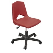 Marco Group MG1100 Series Plastic Classroom Chair; Burgundy