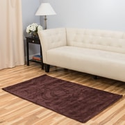 Harbormill Hand-Tufted Chocolate Area Rug; 3' x 5'