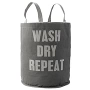 Bloomingville ''Wash Dry Repeat'' Canvas Laundry Bag