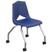 Marco Group MG1100 Series 18'' Plastic Classroom Chair (Set of 2); Navy
