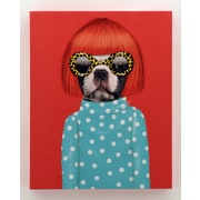 Empire Art Direct Pets Rock  ''Spots'' Graphic Art on Wrapped Canvas