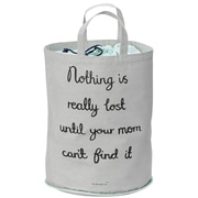 Bloomingville ''Nothing Is Really Lost '' Cotton Storage Bag