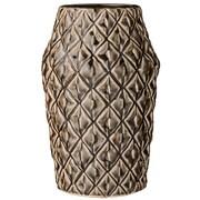 Bloomingville Ceramic Vase; Dark Chocolate