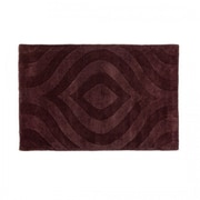 Harbormill Hand-Tufted Chocolate Area Rug; 2' x 3'