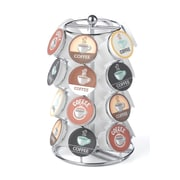 Coffee Pod Carousel in Chrome - 24 Capacity