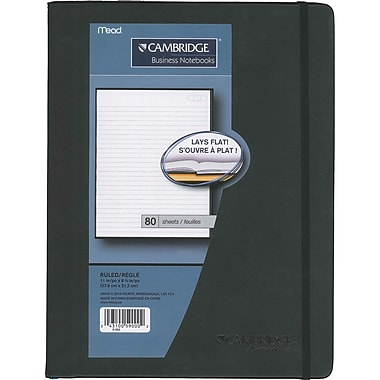 Cambridge® Lay Flat Casebound Notebook