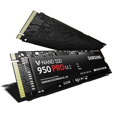 Samsung – Disque SSD interne NVMe 950 PRO, 250 Go (MZ-V5P256BW)