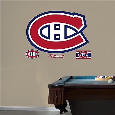 Fathead 64-64309 Wall Decal, Montreal Canadians Logo