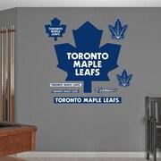 Fathead 64-64312 Toronto Maple Leafs Logo, Real Big Wall Decals