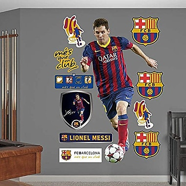 Fathead – Très grands autocollants muraux 66-66127, Lionel Messi - No. 10