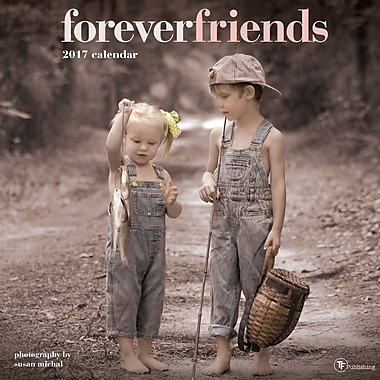 TF Publishing 2017 Forever Friends Wall Calendar, 12