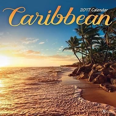 TF Publishing 2017 Caribbean Wall Calendar, 12