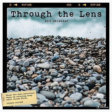 TF Publishing 2017 Through the Lens Wall Calendar, 12