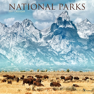 TF Publishing 2017 National Parks Wall Calendar, 12