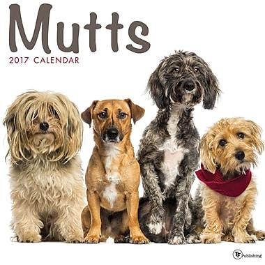 TF Publishing 2017 Mutts Wall Calendar, 12