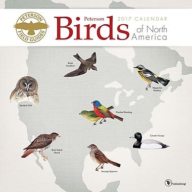 TF Publishing 2017 Peterson Field Guide Birds Wall Calendar, 12