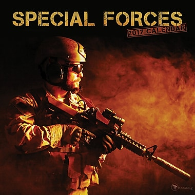 TF Publishing 2017 Special Forces Wall Calendar, 12