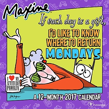 TF Publishing 2017 Maxine Mini Calendar, 7