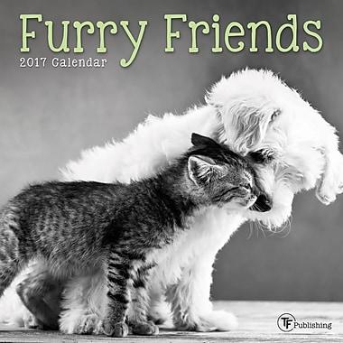 TF Publishing 2017 Furry Friends Mini Calendar, 7