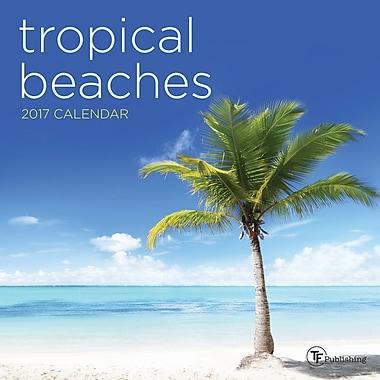 TF Publishing 2017 Tropical Beaches Mini Calendar, 7