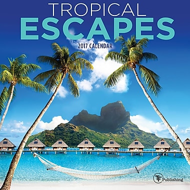 TF Publishing 2017 Tropical Escapes Mini Calendar, 7