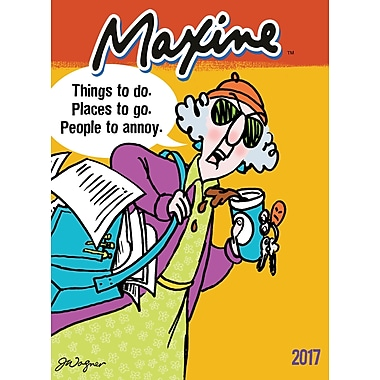 TF Publishing 2017 Maxine 12 Month Simplicity Planner