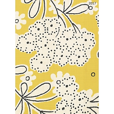 TF Publishing 2017 Linen Floral 12 Month Simplicity Planner