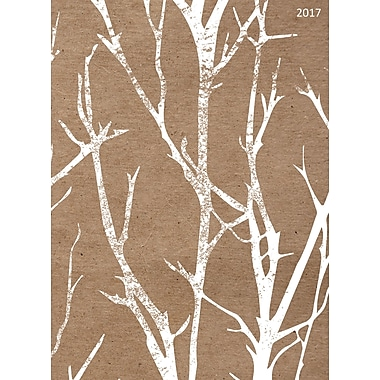 TF Publishing 2017 Birch Trees 12 Month Simplicity Planner