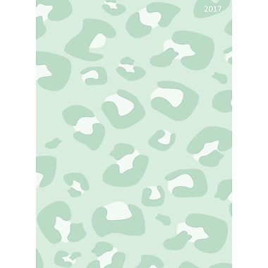 TF Publishing 2017 Minted Leopard 12 Month Simplicity Planner