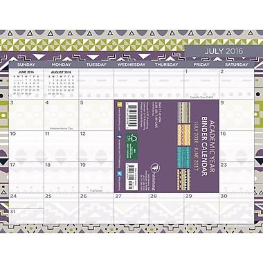 TF Publishing 2017 Academic Year Prints and Patterns Binder Calendar, 11