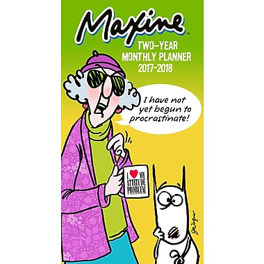 TF Publishing 2017-2018 Maxine 2 Year Pocket Calendar