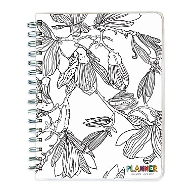 TF Publishing 2017 Academic Year Colour Me Plans Spiral Engagement Planner