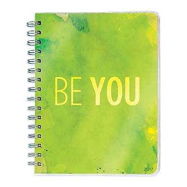 TF Publishing 2017 Be You 12 Month Spiral Engagement Planner