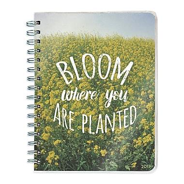 TF Publishing – Planificateur 2017, à spirale, 12 mois, En fleurs