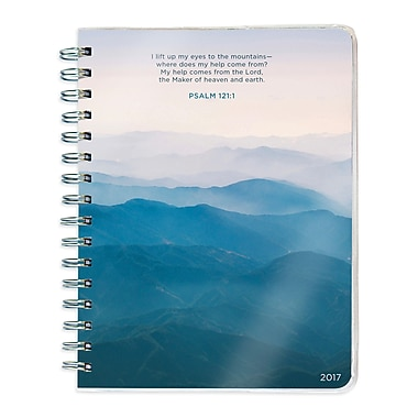 TF Publishing 2017 Psalms 12 Month Spiral Engagement Planner