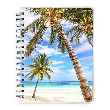 TF Publishing 2017 Academic Year Tropical Beaches Spiral Engagement Planner