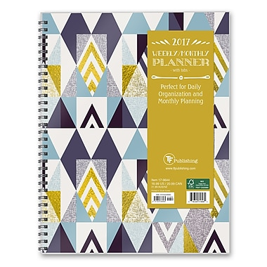 TF Publishing 2017 Soho Shapes 12 Month Perfect Planner