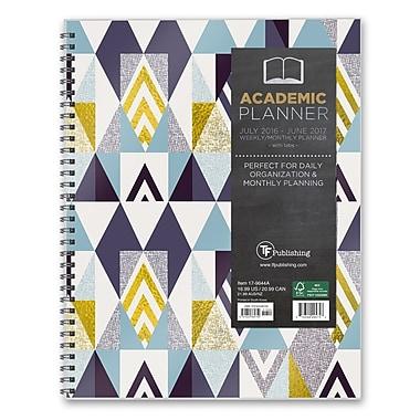 TF Publishing 2017 Academic Year Soho Shapes Perfect Planner