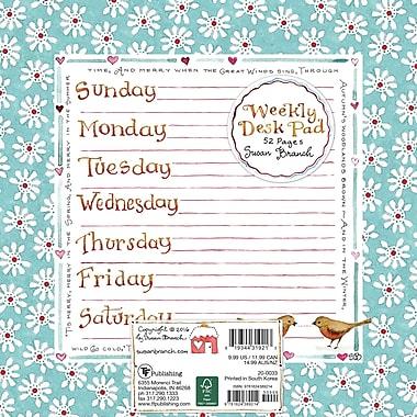 TF Publishing – Bloc de planification hebdomadaire, Susan Branch, 7,75 x 7,75 po
