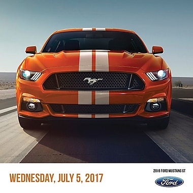 TF Publishing 2017 Mustang Daily Desktop Calendar