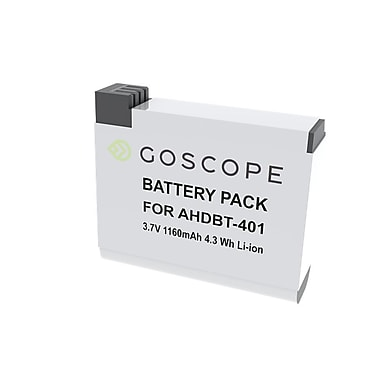 GoScope® GS029 Dual Charger with Battery for GoPro HERO4