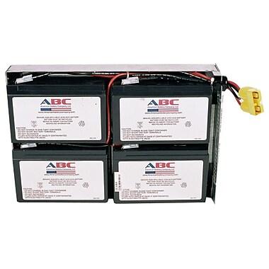 APC - Pile de rechange RBC24 UPS, 13,5 x 8,5 x 3,26 po, noir