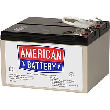 American Battery – Batterie d'accumulateurs au plomb Rbc109
