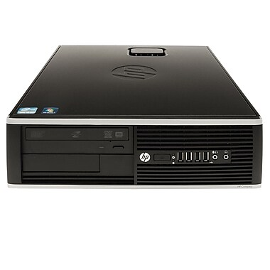 HP - PC de bureau 8200 SFF QR313US#ABA remis à neuf, Intel i5 2400 3,1GHz, RAM 4Go, DD 500Go, DVDRW, Win 7 Pro MAR, anglais
