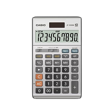 CASIO® - Calculatrice de table JF-100BM