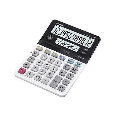 CASIO® - Calculatrice de table DV-220 Premium à deux écrans avec fonctions commerciales